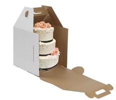 Картонная упаковка для тортов и пирожных