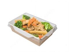 Контейнеры для салатов и горячих блюд с ламинацией (OPSALAD) 500мл