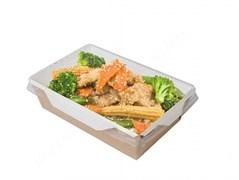Контейнеры для салатов и горячих блюд с ламинацией (OPSALAD) 800мл  -