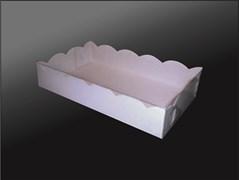 Упаковка для пирожных, пряников, зефиров, мармеладов, сладостей 200Х120Х40 ММ (2 ПРЯНИКА)