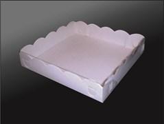Упаковка для пирожных, пряников, зефиров, мармеладов, сладостей 150х150х30 (пряник малый)